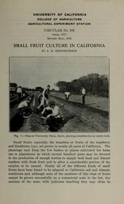 Small fruit culture in California PDF