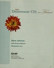 Adobe Dreamweaver CS3 on demand PDF