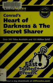 CliffsNotes Heart of darkness and The secret sharer PDF