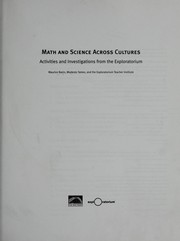 Math and science across cultures PDF