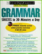 Grammar Success in 20 Minutes a Day (Skill Builders) PDF