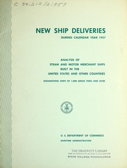 New ship deliveries PDF