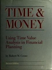 Time and money by Robert M. Crowe
