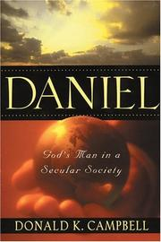 Daniel by Donald K. Campbell