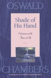 Shade of His hand by Oswald Chambers