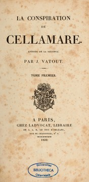 La Conspiration de Cellamare by Jean Vatout