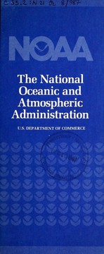 NOAA, the National Oceanic and Atmospheric Administration PDF