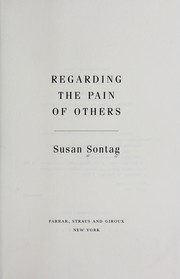 Cover of: Regarding the pain of others by Susan Sontag
