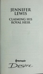 Claiming his royal heir PDF