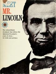 Meet Mr. Lincoln PDF