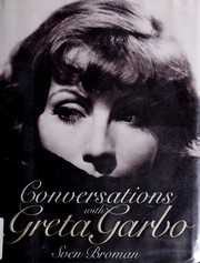 Conversations with Greta Garbo by Sven Broman