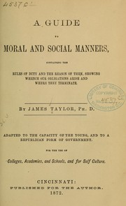 A guide to moral and social manners PDF