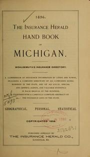 The insurance Herald hand book of Michigan... PDF