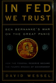 Cover of: In Fed we trust by David Wessel