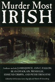 Murder Most Irish by Ed Gorman (Editor), Larry Segriff (Editor), Martin H. Greenberg (Editor)