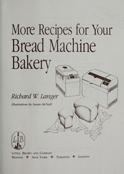 More recipes for your bread machine bakery PDF