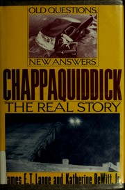 Chappaquiddick by James E. T. Lange