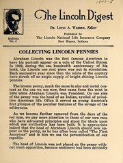 Collecting Lincoln pennies by Louis Austin Warren