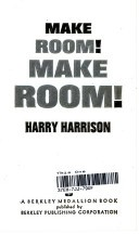Cover of: Make Room Make Room by Harry Harrison