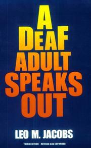 A deaf adult speaks out PDF