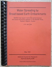 Water spreading by broad-based earth embankments PDF