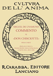 "Cover of: Commento Al ""Don Chisciotte"" by"