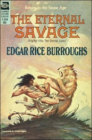 Cover of: The eternal savage by Edgar Rice Burroughs