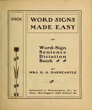 Word signs made easy PDF