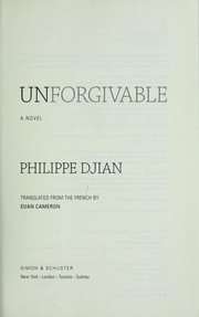 Impardonnables by Philippe Djian