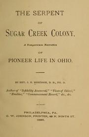 The serpent of Sugar Creek colony PDF