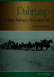 Pahrump by Robert D. McCracken