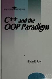 C [plus plus] and the OOP Paradigm PDF
