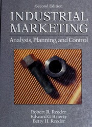 Industrial marketing by Robert R. Reeder