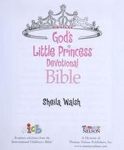 God's little princess devotional bible PDF