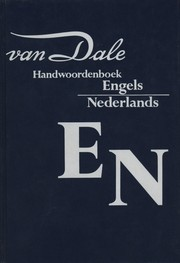 Cover of: Van Dale handwoordenboek Engels-Nederlands by Michael Hannay