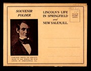 Lincoln's life in Springfield and New Salem, Ill by
