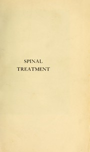 Spinal treatment
