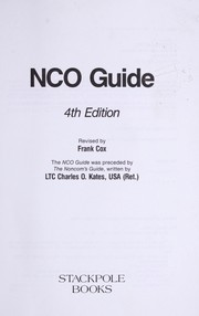 NCO guide by Frank Cox