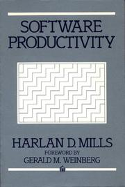 Software productivity by Harlan D. Mills