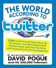 The world according to Twitter by David Pogue