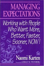 Managing expectations by Naomi Karten