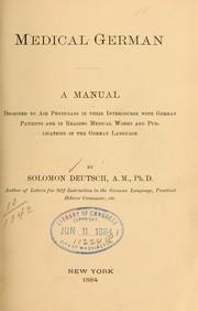 Medical German PDF