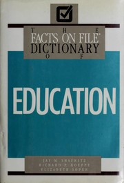 The Facts on File dictionary of education PDF