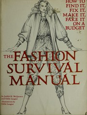 The fashion survival manual by Judith H. McQuown