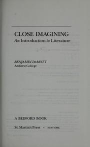 Close Imagining PDF