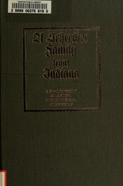 Cover of: A Schreiber family from Indiana by June Ann Schneck Baxter