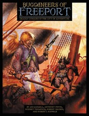 Cover of: Buccaneers Of Freeport by Ari Marmell, Anthony Pryor, Rodney Thompson, Robert Vaughn