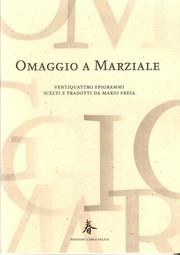 Cover of: Omaggio a Marziale by 