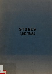 Cover of: Stokes by William E. D. Stokes