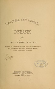Venereal and urinary diseases by Temple S. Hoyne
